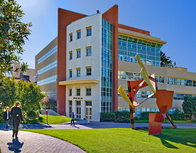 SF State Burk Hall Building